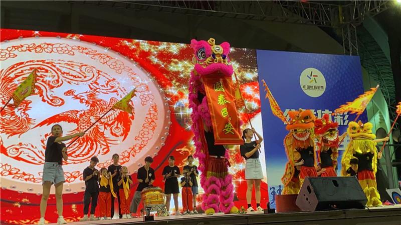 精彩绝伦的珠海舞狮表演